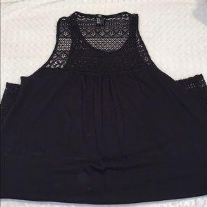 H&M oversized black dress 👗🖤